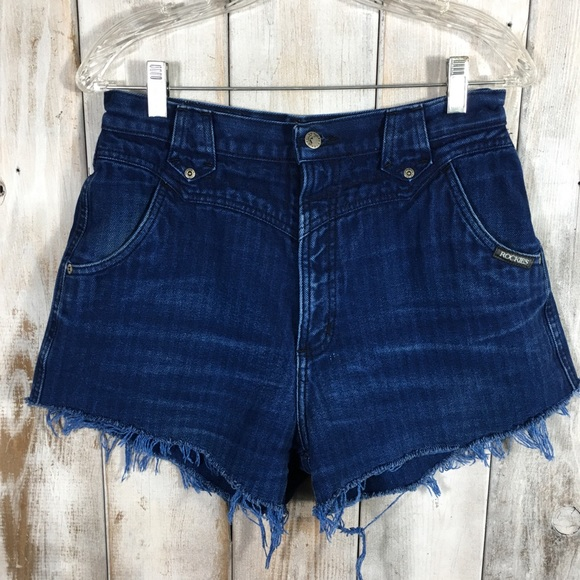 Rockies Pants - Vintage High Waisted Rockies Cut Offs Shorts 30/11